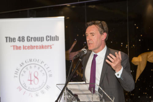 The 48 Group Club Photo Gallery: speech 2