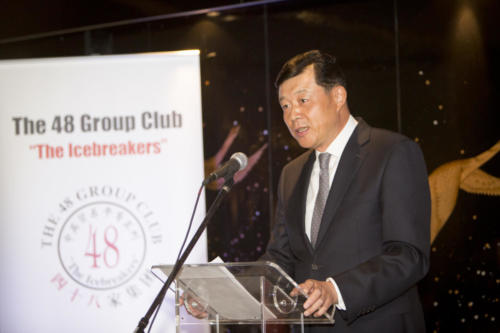 The 48 Group Club Photo Gallery: speech 1